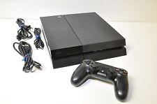 Sony PlayStation 4 (PS4) - 500 GB Jet Black Console (60 Day Warranty)
