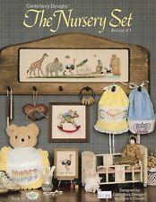 The Nursery Set cross stitch pattern booklet
