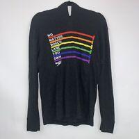 Speedo Unisex Pride Pullover Hoodie Shirt Long Sleeve Size Medium