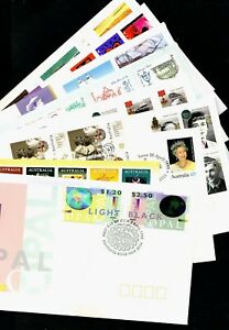 10 different 1995 FDC's. with high value sets. Excellent condition  • FREE POST