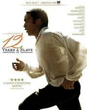 NEW SEALED 12 Years a Slave, Blu-Ray Disc Digital HD, with making-of documentary