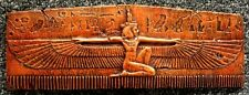 Egyptian Winged Isis Wall Plaque Home Decor Sculpture