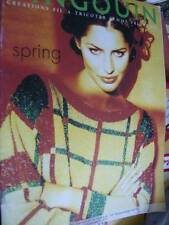 Pingouin Spring Knitting Book PA 550001 -22 Lady Styles- All Shown English Text
