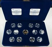 1992 Canada 125th Anniversary Commemorative Proof 25 Cents Set- W/Box & COA's