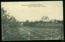 Neuhammer / Queis, Villa des Kommandaten, 1916
