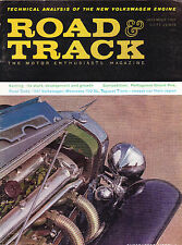 Shipped In A Box - Road & Track Magazine December 1960