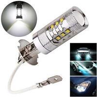 2x H3 80w Cree High Power LED Car fog Running White Light Bulbs DC 12V Lamp UP