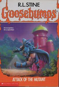R.L. Stine GOOSEBUMPS #25 ATTACK OF THE MUTANT - 1994 USA PRINT - UNREAD