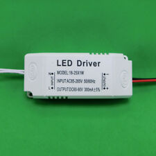 AC LED Driver +Shell 18~25x1W 300mA Power Supply for Lamp Light Bulb 18W 20W 24W