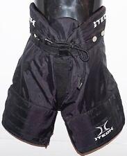 """Itech Padded Ice Hockey Pants L/Xl - Youth Large / Xlarge 24""""-28"""" Black Used"""
