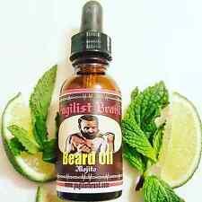 Beard Care Oil by Pugilist Brand -Mojito ( Peppermint & Lime)