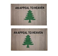 """12x18 12/""""x18/"""" An Appeal To Heaven Washington Cruisers Motorcycle Flag Grommets"""