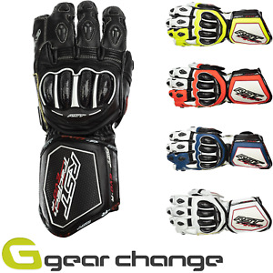 RST Tractech Evo R (CE) Leather Motorbike Motorcycle Sports Gloves