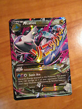 PL MEGA Pokemon M LATIOS EX Card ROARING SKIES Set 59/108 XY X Y Ultra Rare TCG