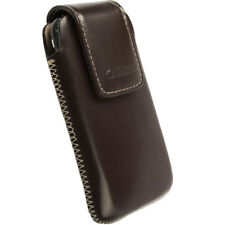 New Krusell Vinga Mobile Phone Pouch Medium 95519 Brown for iPhone 4/4s, Samsung
