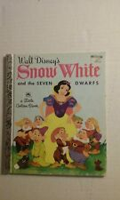 Snow White and the Seven Dwarfs - A Little Golden Book - KK Edition Hardcover