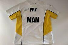 2007 Tim Horton's Brier Signed Game Worn Jersey - Ryan Fry, Manitoba