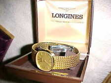 gorgeous  LONGINES MANS WRISTWATCH - GIFT CASE