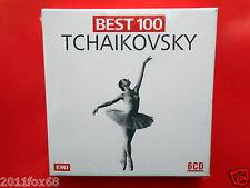 best 100 tchaikovsky concertos symphonies ballets romeo and juliet 6 CD booklet