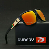 DUBERY Men's Polarized Sunglasses Outdoor Driving Men/Women Sport Glasses