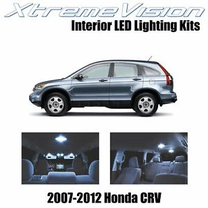 XtremeVision Interior LED for Honda CRV 2007-2012 (6 PCS) Cool White