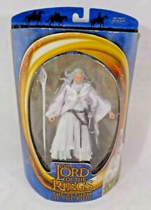The Lord of the Rings GANDALF THE WHITE THE RETURN OF THE KING Toybiz