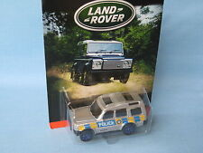 Matchbox Land Rover Discovery Silver Body Police Toy Model Car 70mm in BP Disco