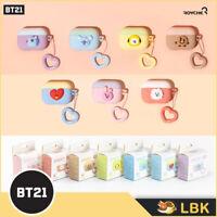 New!!【BT21 x Royche】 BT21 Airpods procase Heartring Duo / BTS official goods