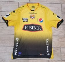 Mens Marathon Yellow 2013 Barcelona Soccer Jersey Sz Xl direct tv Ecuador