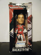 "Rare ""MINNESOTA WILDCATS, NIKLAS BACKSTROM"" collectable bobblehead. Mint in box."