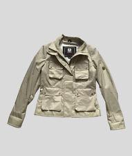 Belstaff Gold Label Nylon Leather Biker Jacket sz 50