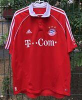 FC BAYERN MUNICH 20062007 HOME FOOTBALL JERSEY TRIKOT SOCCER SHIRT VINTAGE