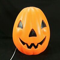 "Empire Jack O Lantern Blow Mold Halloween Pumpkin Lighted Scary Yard Decor 13"""