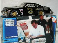 1995 Richard Childress #3 Black Gold AUTOGRAPHED 1/24 car W/PHOTO OF SIGNING WOW