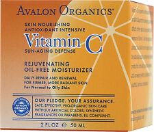 Vitamin C Rejuvenating Oil-Free Moisturizer, Avalon Active Organics, 2 oz