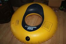 """H2 Overdrive Inflatable Inner Tube & Cover Towable Missing Plug Water Float 53"""""""