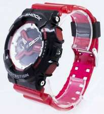 Casio Watch Men G Shock GA-110RB-1AER G-RESIST Protection Purple and black