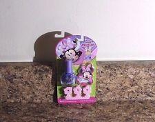 Disney Minnie Mouse Nail Set Purple Polish File Toe Spacer New