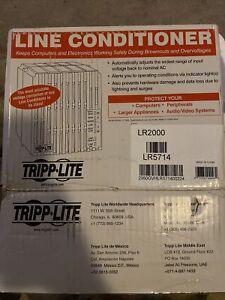 Brand New TRIPP LITE LR2000  Line Conditioners