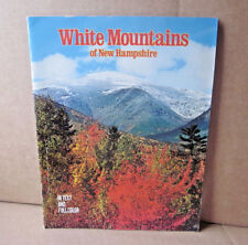 WHITE MOUNTAINS souvenir booklet New Hampshire 1960s Appalachian book OG