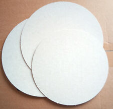 Cake card 5 pizza bases 10 inch 25cm board circle disks round badgemaking craft