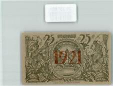 39331881 - 8103 Oberammergau Notgeld Gutschein 25 Pfennig Kreuz Jesu Geldschein