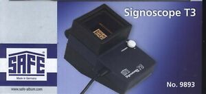 SAFE Signoscope T 3 Optical Electrical Watermark Finder New
