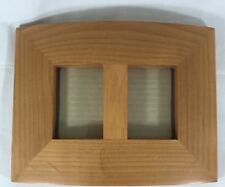 """Philip Whitney Wood Picture Frame - Double 2"""" X 3"""" Images Contemporary Design"""
