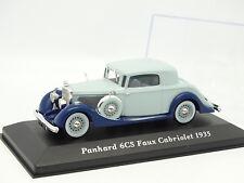 Ixo Presse 1/43 - Panhard 6CS Faux Cabriolet 1935