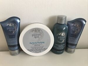 Mixed Lot Of Avon Planet Spa x4