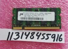 2GB DDR2 SODIMM PC5300 PC2 5300 667 MHz 200PIN NON-ECC DUAL RANK 2RX8 128X8