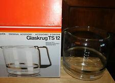 recipient de CAFETIERE KRUPS TS12 ts-12 glass JUG carafe GLASKRUG verre VERSEUSE