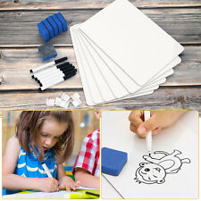 12''x9'' Whiteboard Kit Dry Erase Double Sided Writing Board School Home Office