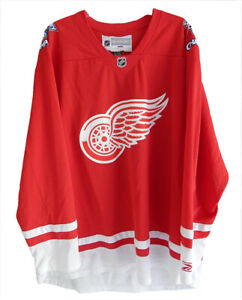 2008 Detroit Red Wings Stanley Cup Champions Reebok CCM Hockey Jersey XXL